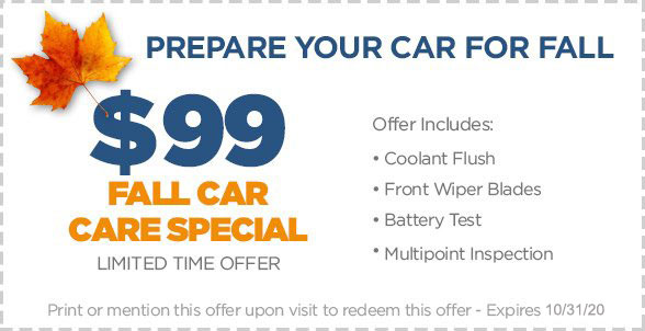 Weston coupon for auto repair in fort collins