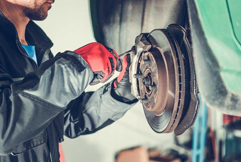 fort collins mechanic installing brakes